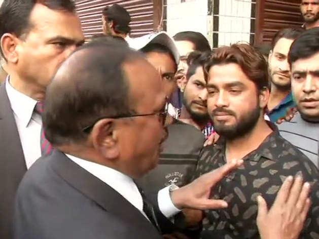 राष्ट्रीय सुरक्षा सलाहकार (NSA) अजीत डोभाल ने दिल्ली के हिंसाग्रस्त इलाकों का दौरा किया।