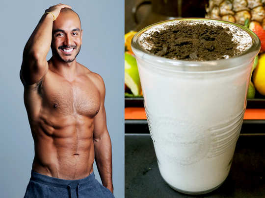 how to make protein shake at home for bodybuilding with easy steps in hindi