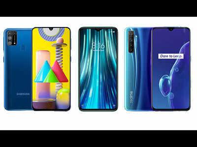 Galaxy M31 vs Redmi Note 8 Pro vs Realme X2