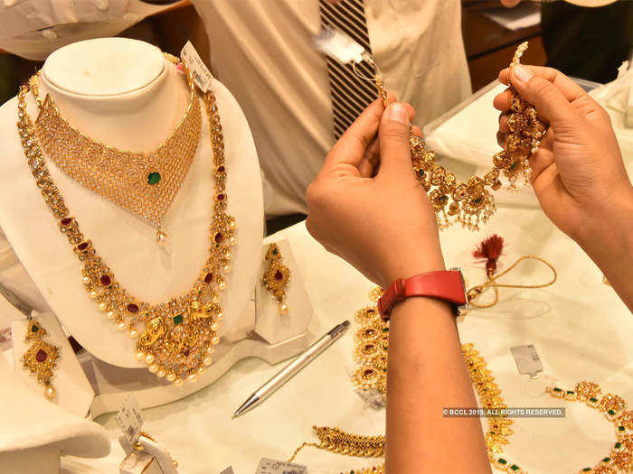 Gold jewellery 1