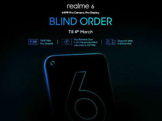Realme 6 और 6 Pro प्री-ऑर्डर करने पर Buds 2 फ्री, 5 मार्च को लॉन्च
