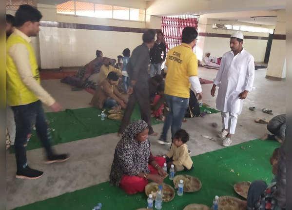 गावड़ी इलाके में रह रहे थे ये परिवार