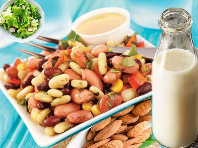 दूध के अलावा शरीर में कैल्शियम की कमी दूर करते हैं ये 10 फूड्स