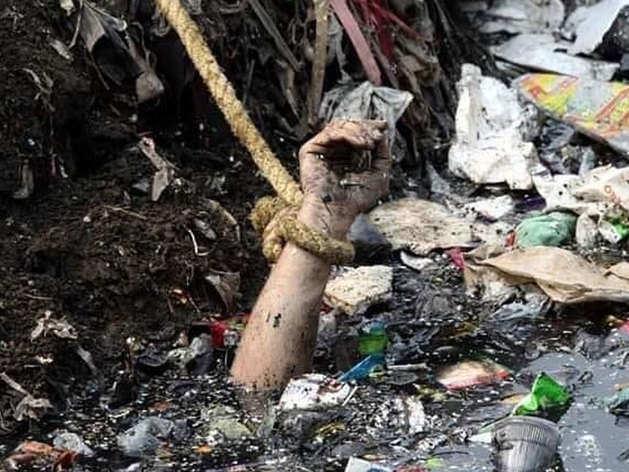 चांद बाग में एक नाले में आईबी कर्मचारी अंकित शर्मा का शव मिला था।