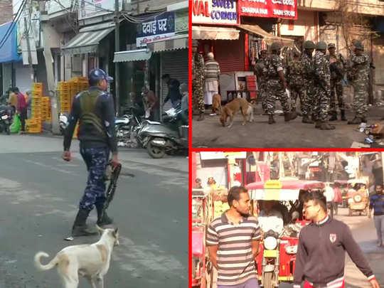 delhi violence: what is the situation in north east delhi streets shiv vihar, jafferabad, seelampuri, maujpur, babarpur
