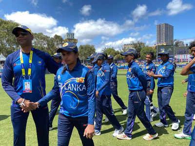 जीत के बाद श्रीलंकाई टीम