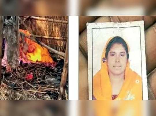 Man burns wife alive after she protested