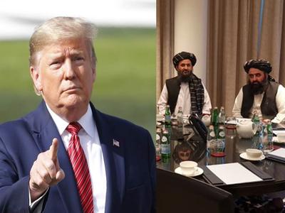 डोनाल्ड ट्रंप ने तालिबान नेताओं से की बात
