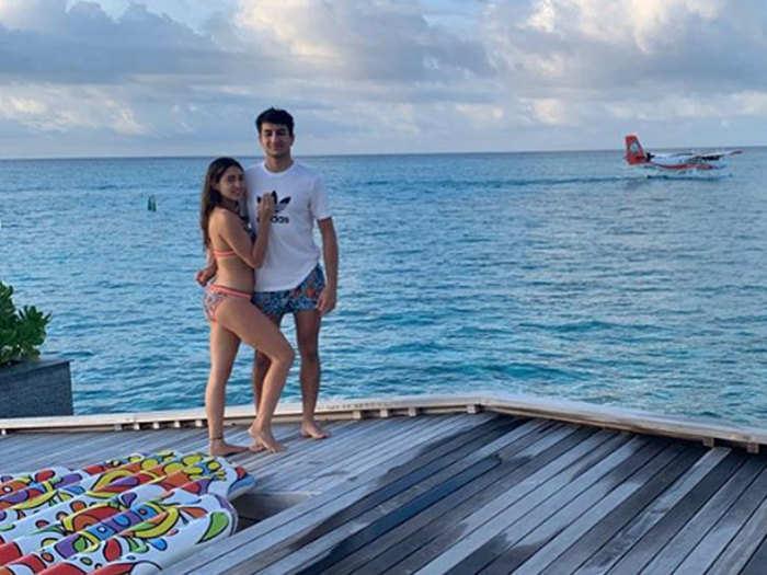 sara ali khan posting a bikini picture to wish her brother ibrahim ali khan on his birthday gets trolled