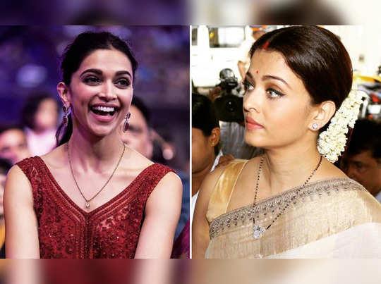 deepika padukone to aishwarya rai bacchan actresses who have most expensive mangalsutra