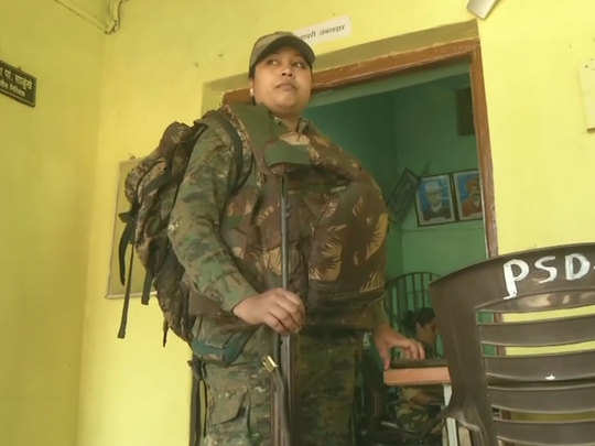 women troops of gadchiroli police have been deployed in naxal affected posts in the area