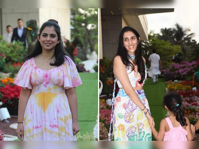 isha ambani piramal holi party nita ambani again leaves everyone impressed with her fashion choice