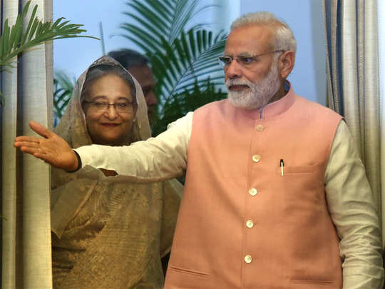 modi with sheikh hasina