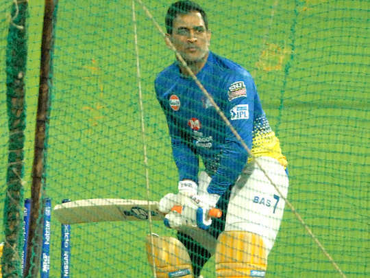 MS-Dhoni-in-Nets