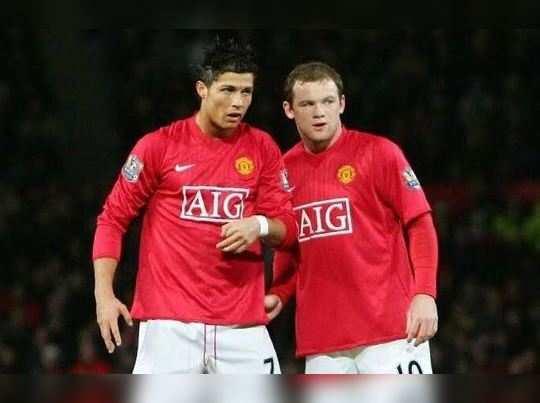 Wayne Rooney Cristiano Ronaldo main