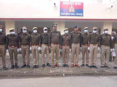गोरखपुर में पुलिसकर्मियों को दिए गए टिप्स