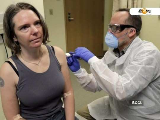 1st person in US gets experimental coronavirus vaccine dose
