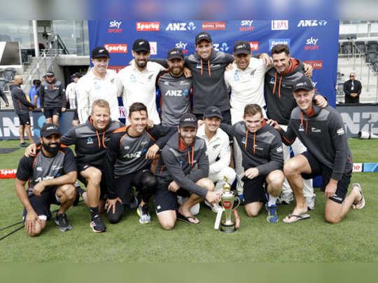 New Zealand India Cricket