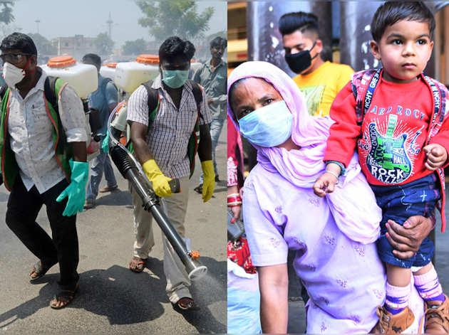 Coronavirus in India: सोसायटी सील, ट्रेनें रद्द...भारत में कोरोना का कहर, लेटेस्ट अपडेट्स