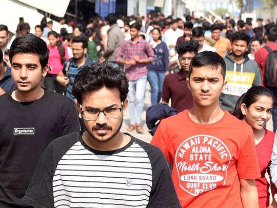 प्रतियोगी छात्रों में निराशा