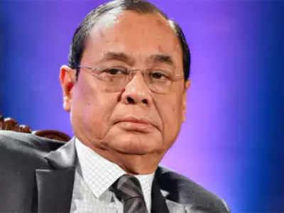 राज्यसभा सांसद रंजन गोगोई। (फाइल फोटो)