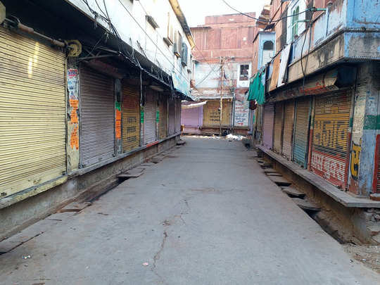 janta curfew unprecedented bandh in rajasthan empty roads and streets