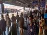कोरोनाः आगरा कैंट स्टेशन पर थर्मल चेकिंग के बाद अस्पताल भेजे गए 26 यात्री