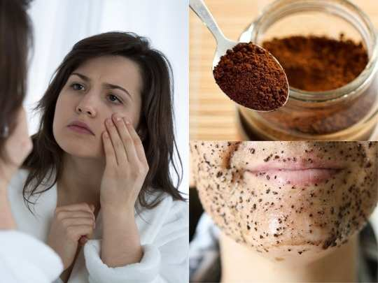how to do coffee facial at home during lockdown work from home