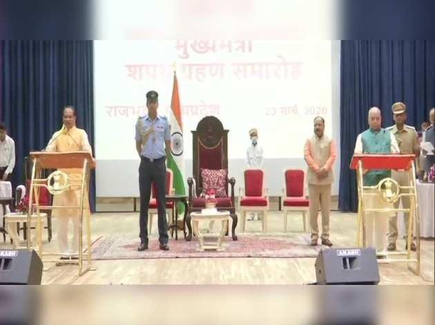 शिवराज सिंह चौहान ने चौथी बार ली मध्य प्रदेश के मुख्यमंत्री पद की शपथ