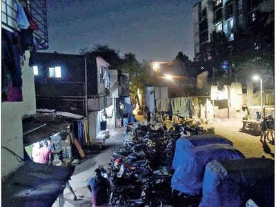 मुंबई की झुग्गी
