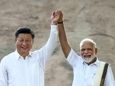 जी20 में पीएम मोदी ने चीन के राष्ट्रपति शी चिनफिंग का दिया साथ।