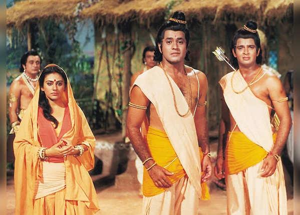 'रामायण' की वो तस्वीरें, जिन्हें देख लगते थे 'जय श्री राम' के नारे