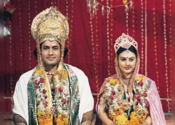 अरुण बने थे 'श्रीराम', दीपिका 'सीता मैया'