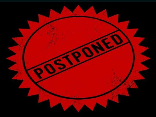 exam postponed