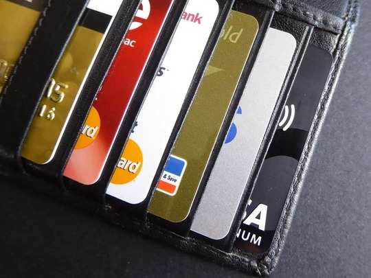 क्रेडिट कार्डांना वगळले