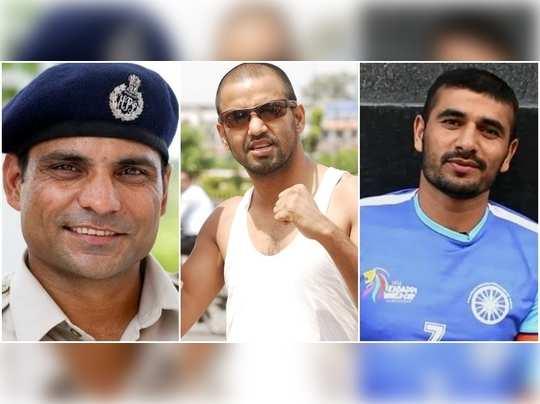 sports stars police
