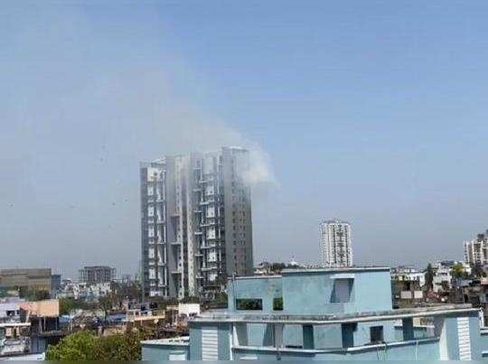 Fire broke out at Bhawanipur building, 10 fire tenders rushed on spot