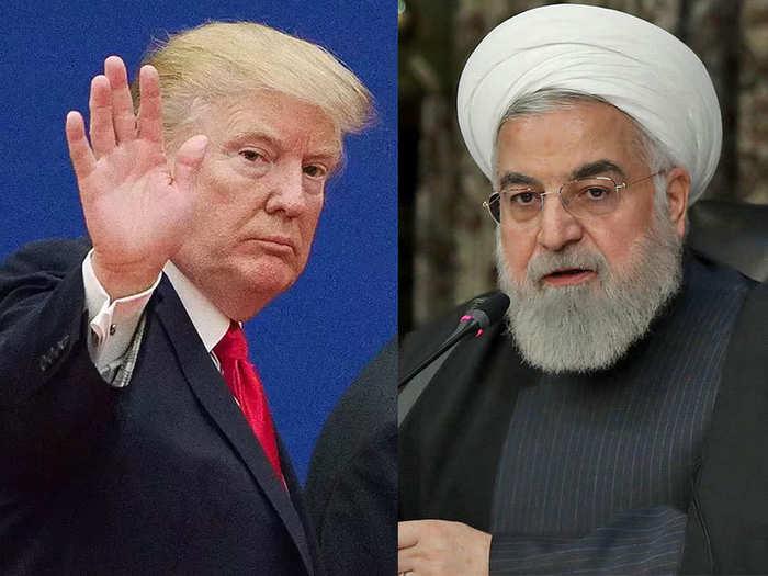 ट्रंप ने ईरान पर लगाए हैं प्रतिबंध