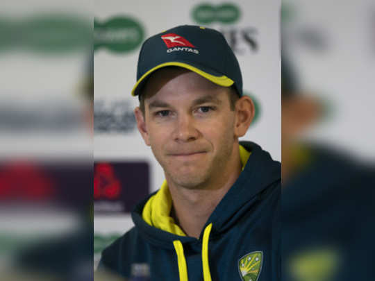 Manchester: Australias Tim Paine speaks during a press conference before the 4t...
