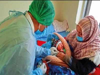 जहरा ने बच्चे को दिया जन्म