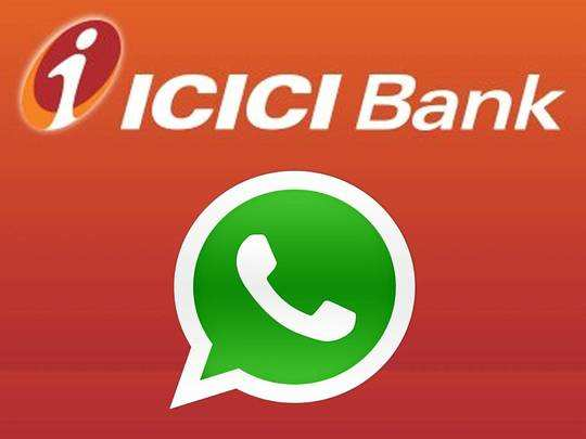 ICICI WhatsApp Banking Service