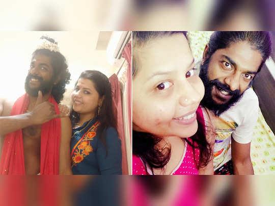 sneha and sreekumar
