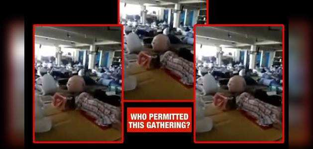 कोरोना वायरस: तबलीगी जमात ने निजामुद्दीन मरकज में यूं उड़ाई थीं सोशल डिस्टेंसिंग की धज्जियां