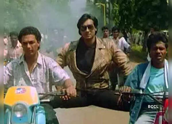 जानें, अजय ने 'फूल और कांटे' में क्यों की थी 2 बाइक्स पर एंट्री
