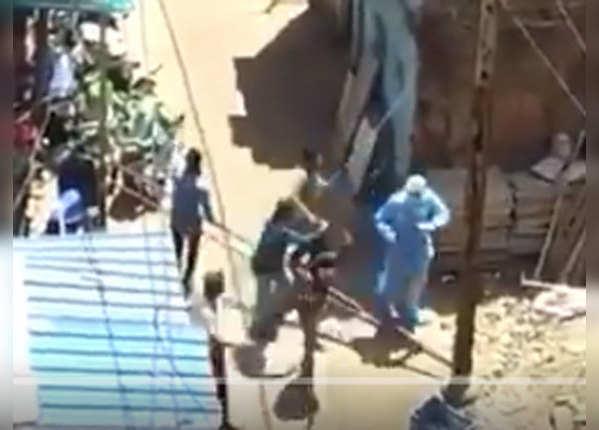 संदिग्ध की जांच करने गए मेडिकल टीम पर मुंगेर में हमला
