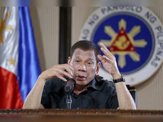 Rodrigo Duterte: ஊரடங்கு உத்தரவை மீறினால் சுட்டுத்தள்ளுங்கள்: பிலிப்பைன்ஸ்  அதிபர் உத்தரவு - philippines president rodrigo duterte gives