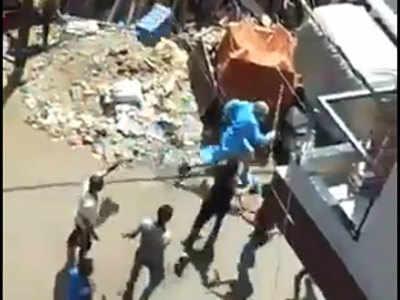 इंदौर में मेडिकल टीम पर हमला