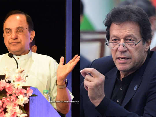 subramanian swamy responds to pakistan prime minister imran khan over rss tweet