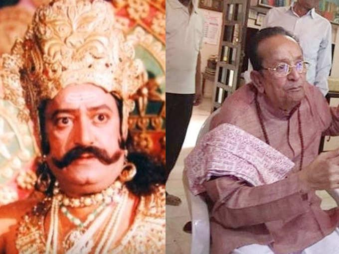 रामानंद सागर का रावण किस हाल में है, जानते हैं?