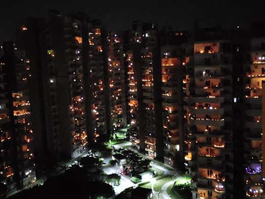 coronaviruss negativity faded away, special diwali celebrated on pm modis appeal